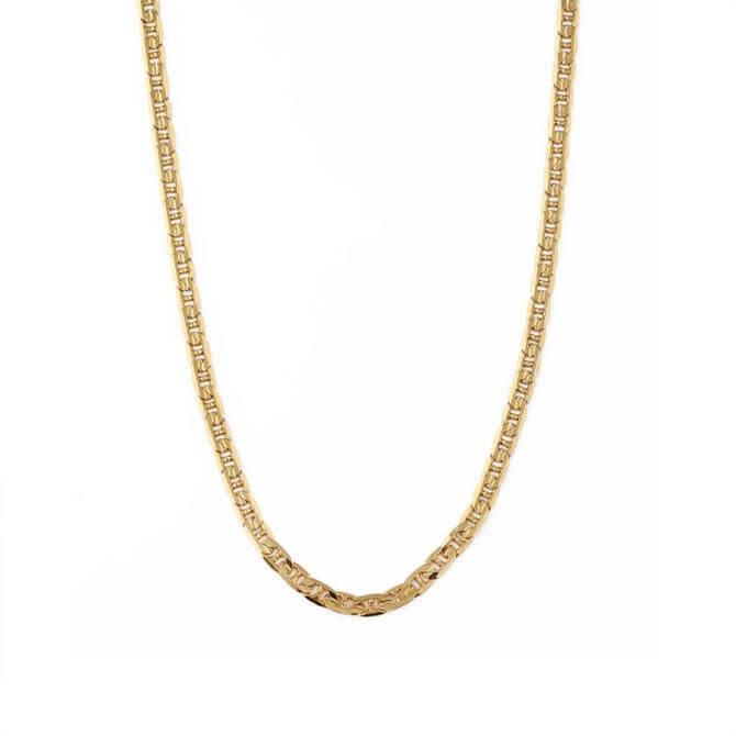 Orelia London Jewellery Gold Grecian Chain Necklace