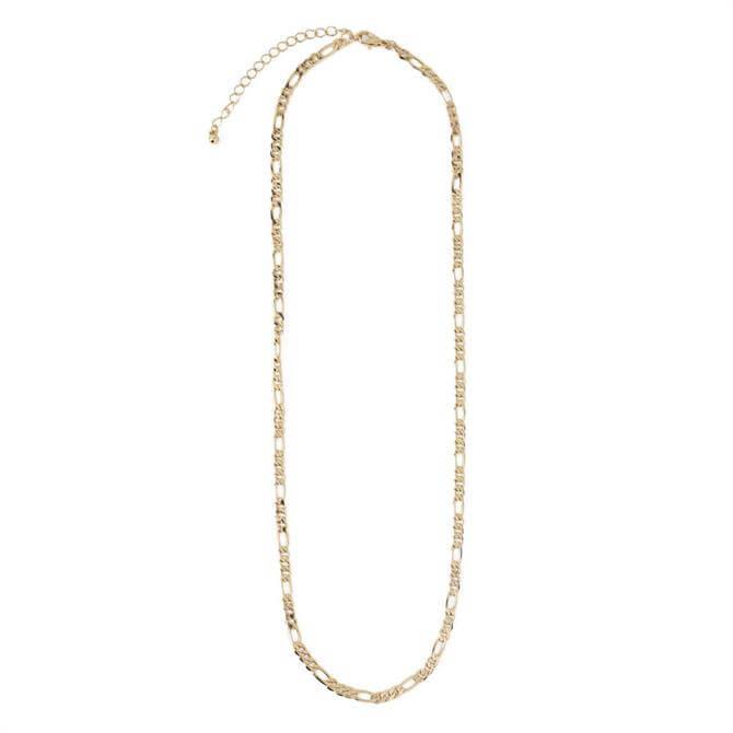 Orelia London Jewellery Gold Chunky Figaro Chain Necklace