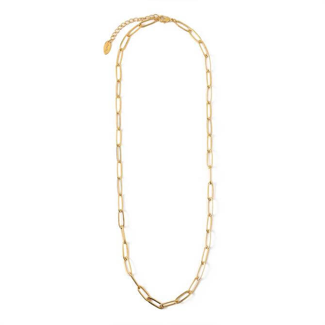 Orelia London Jewellery Large Gold Link Chain Necklace