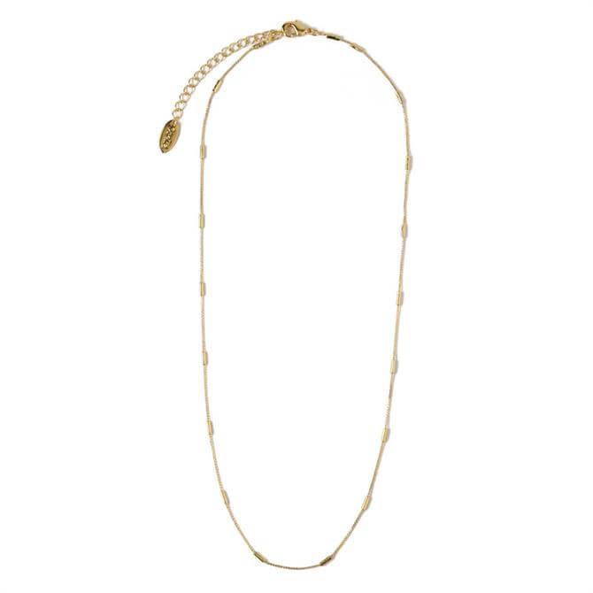 Orelia London Jewellery Gold Fine Link Chain Necklace