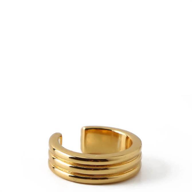 Orelia London Jewellery Linear Single Ear Cuff