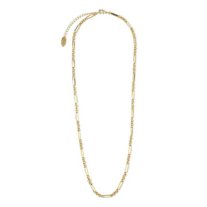 Orelia London Jewellery Mixed Link Chain Necklace