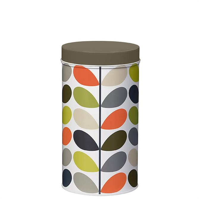 Orla Kiely Multi Stem Single Tin Cannister