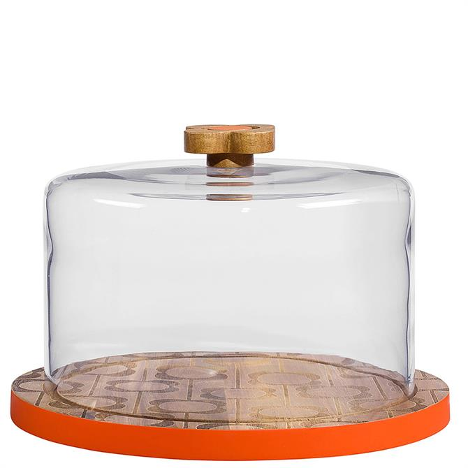 Orla Kiely Abacus Flower Serving Dome