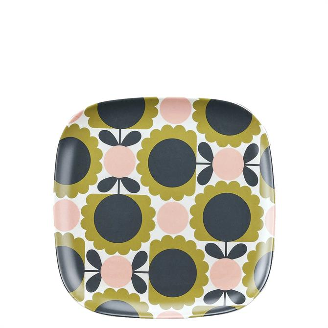 Orla Kiely Forest Scallop Flower Bamboo Side Plate