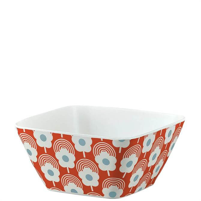 Orla Kiely Lollipop Flower Tomato Bamboo Bowl
