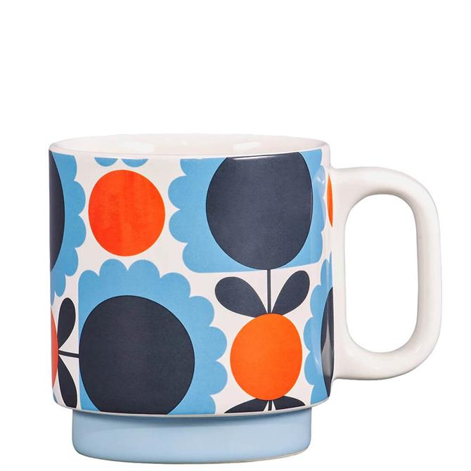 Orla Kiely Scallop Flower Ceramic Mug