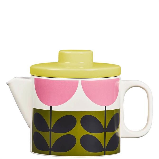 Orla Kiely Sunflower Teapot 1L