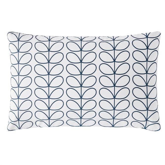 Orla Kiely Linear Stem Whale Pair of Standard Pillowcases