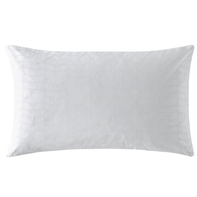 Orla Kiely Ditsy Early Bird White Pair of Pillowcases