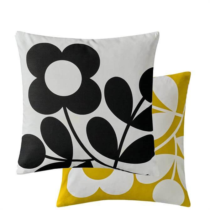 Orla Kiely Stem Sprig Buttercup Cushion