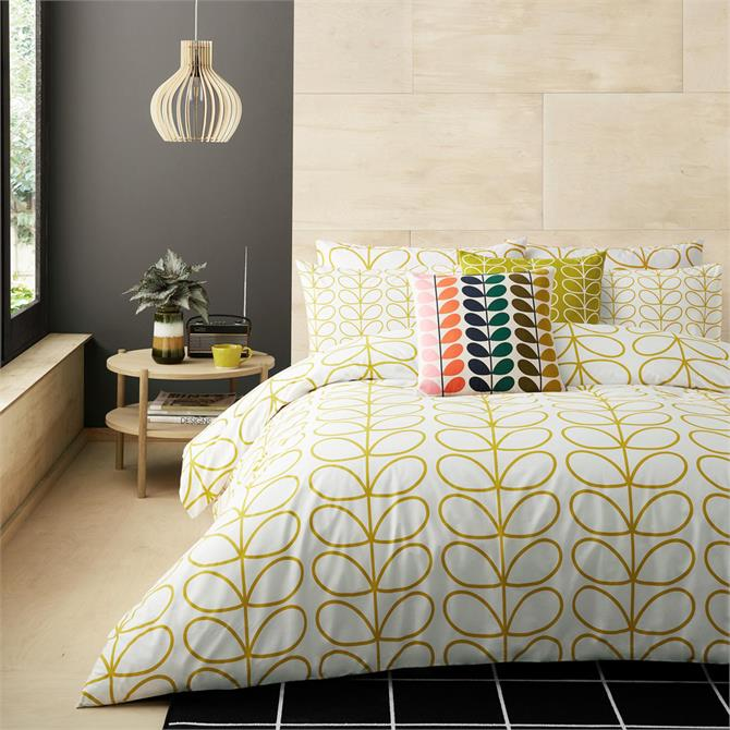 Orla Kiely Linear Stem Dandelion Duvet Cover