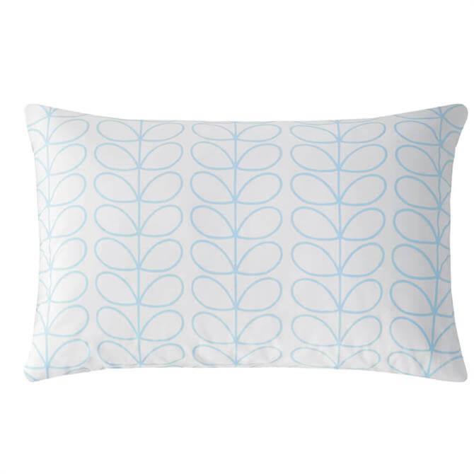Orla Kiely Linear Stem Neptune Blue Pillowcase Pair
