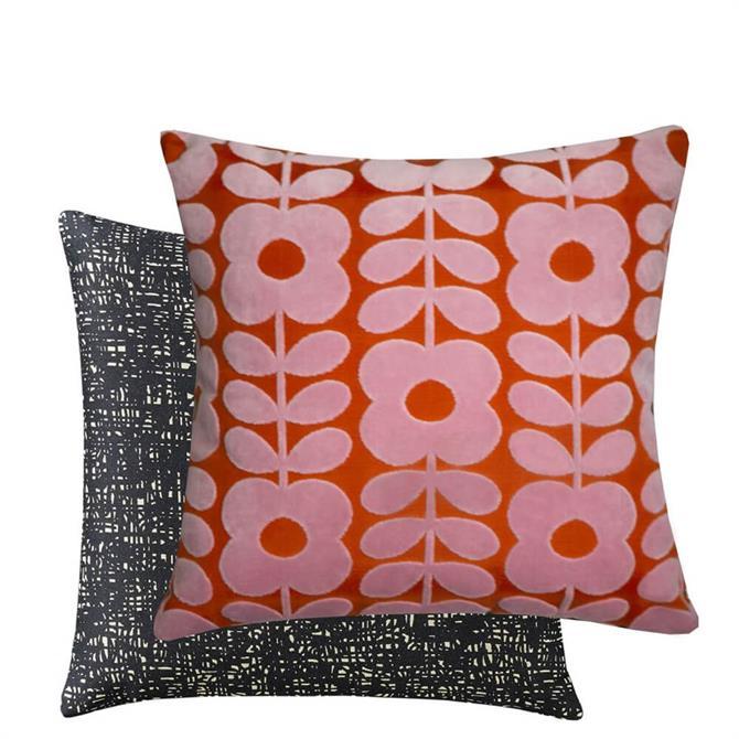 Orla Kiely Velvet Flower Stem Cushion