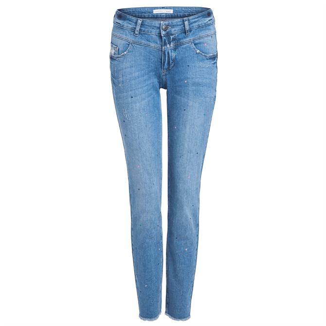 Oui Heart Newport Jeans