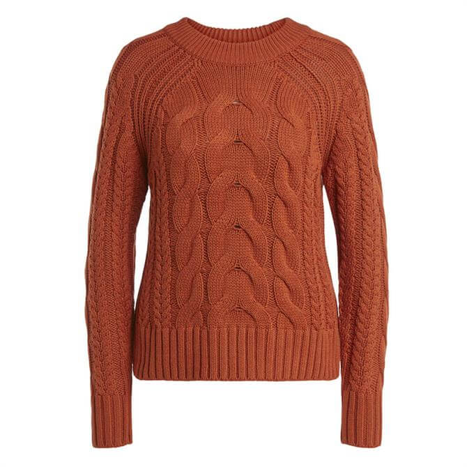 Oui Cable Knit Sweater