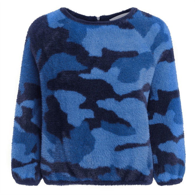 Oui 2-in-1 Camouflage Jumper