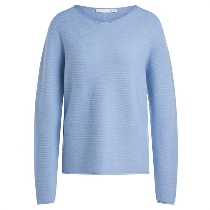 Oui Structured Knitted Jumper