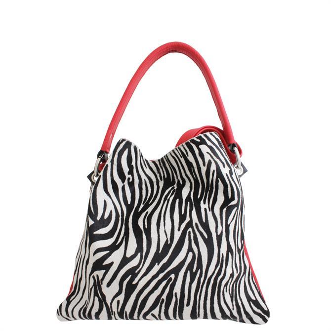 Owen Barry Mini Iggy Zebra Print Bag