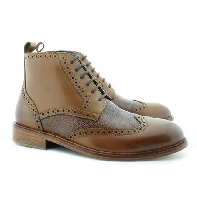 Paolo Vandini Eros Tan Brogue Chukka Boots