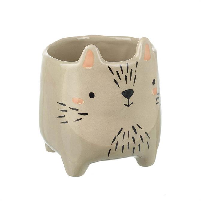 Parlane Small Pot Critter Light Grey