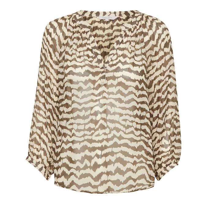Part Two Erdonae Print Relaxed Blouse