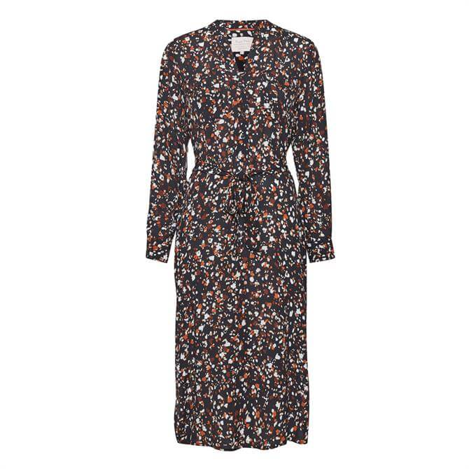 Part Two Eira Patterned Relaxed Shirt Dress
