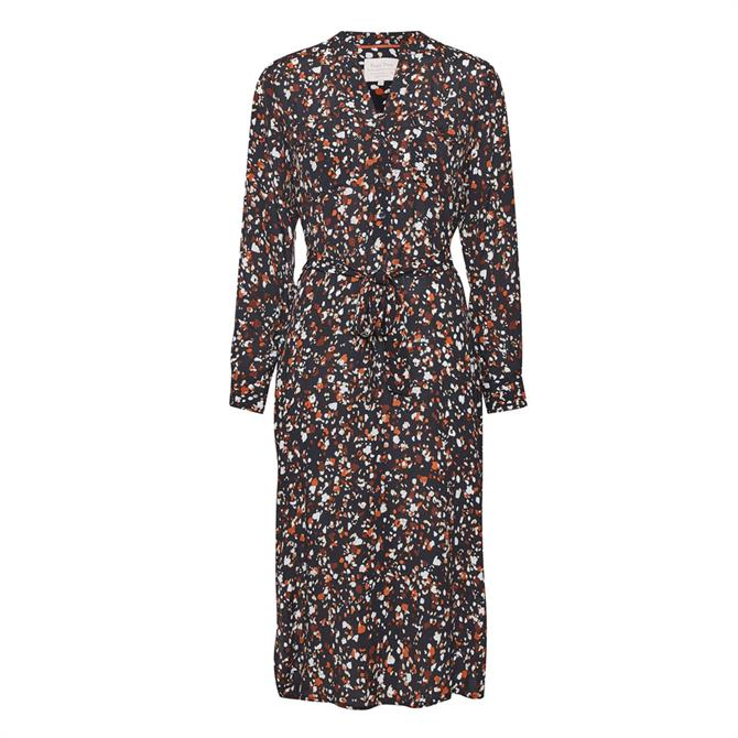 Part Two Eira Patterned Relaxd Shirt Dress