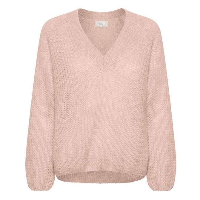 Part Two Evi Knitted V-Neck Sweater