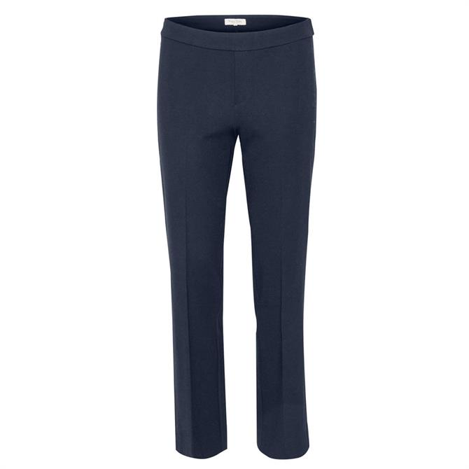 Part Two Casual Straight Ankle Length Trousers