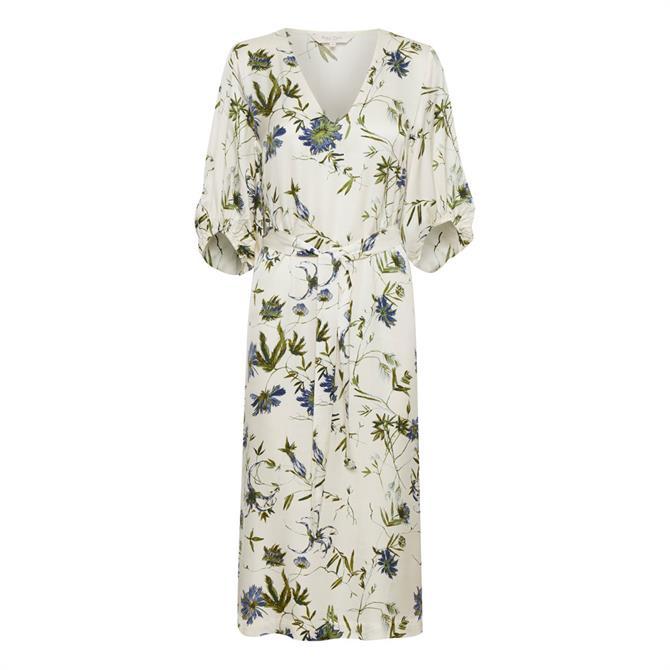 Part Two Iselin Floral Print Midi Dress