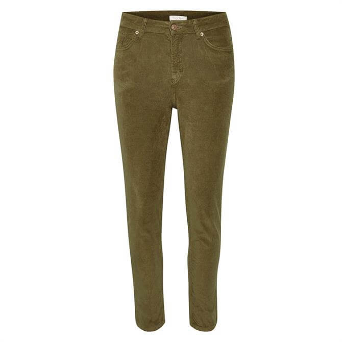 Part Two Silvia Cord Slim Fit Trousers