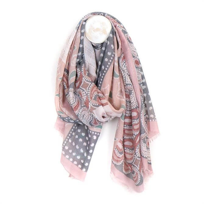 Peace of Mind Paisley Print Scarf