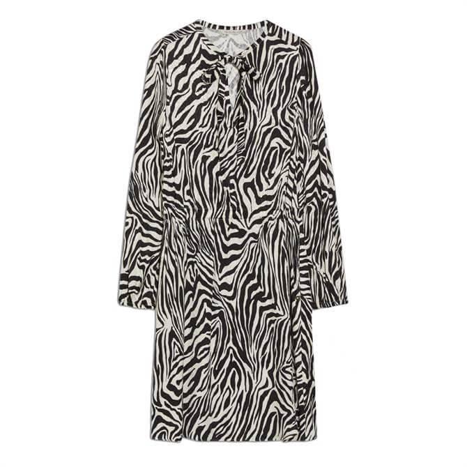 Pennyblack Jacquard Zebra Print Dress