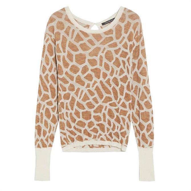 Pennyblack Mimica Giraffe Jacquard Sweater