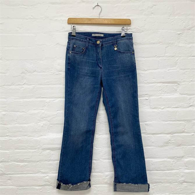 PennyBlack Wide Turn Up Jeans
