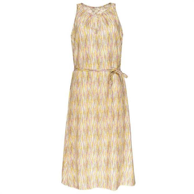 People Tree Agatha Abstract Midi Dress