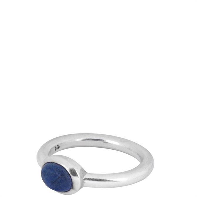 People Tree Lapis Lazuli Oval Ring