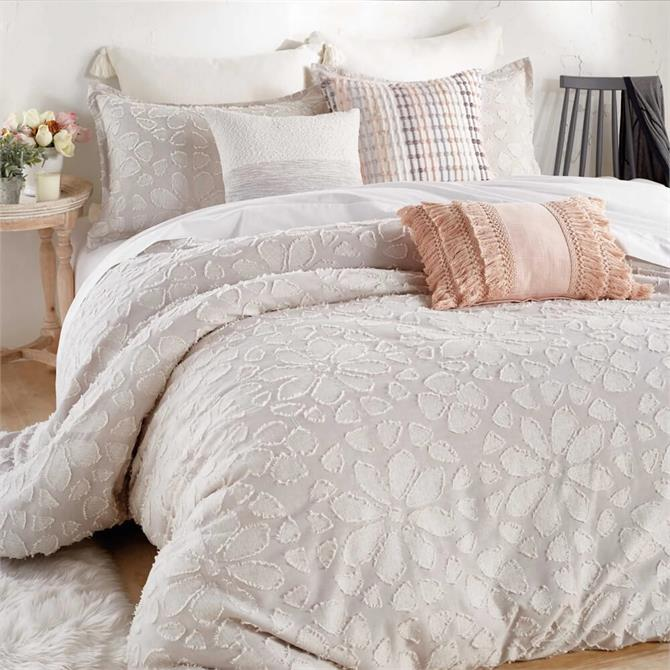Peri Home Clipped Floral Duvet Cover