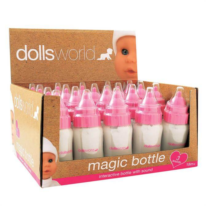Peterkin Dollsworld Magic Baby Bottle with Sound