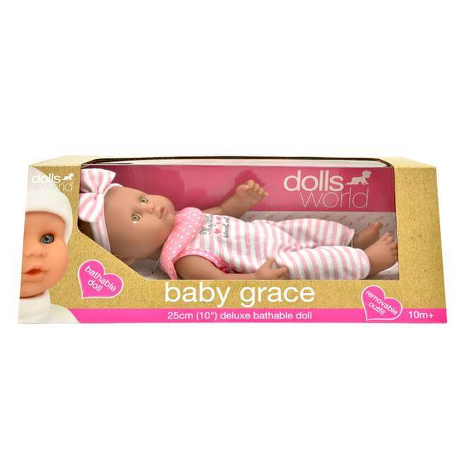 Peterkin Baby Grace Black Doll 8827G