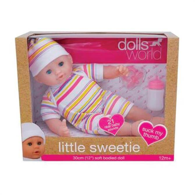 Peterkin Dollsworld Little Sweetie Baby Doll