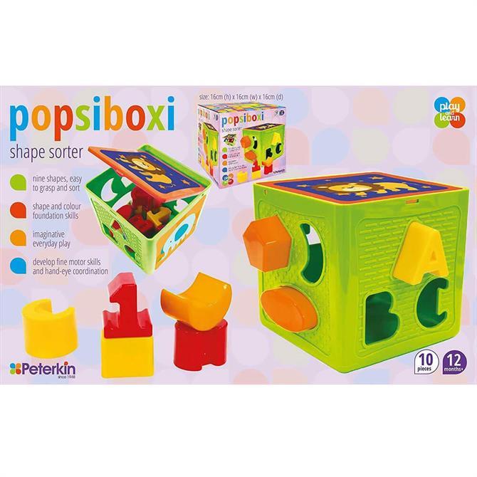 Peterkin Popsiboxi Cube Shape Sorter