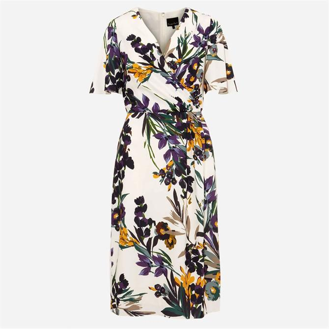 Phase Eight Adele Floral Dress Cream