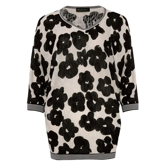 Phase Eight Alma Floral Knit Jumper