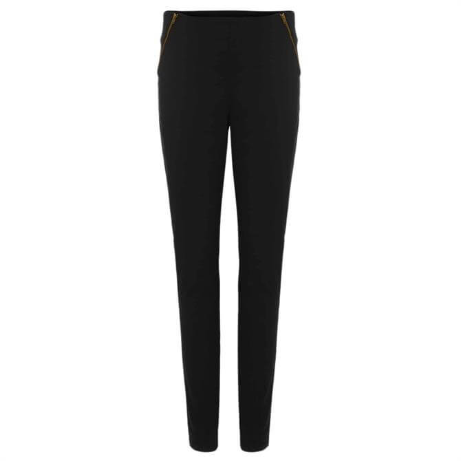 Phase Eight Amina Double Zip Jegging - Forest Green