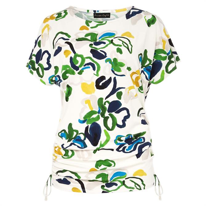 Phase Eight Avery Abstract Floral Top