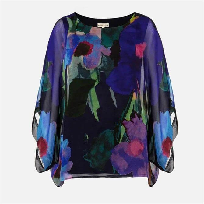 Phase Eight Azana Floral Silk Blouse