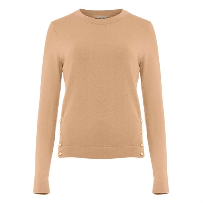 Phase Eight Bella Button Knit Top