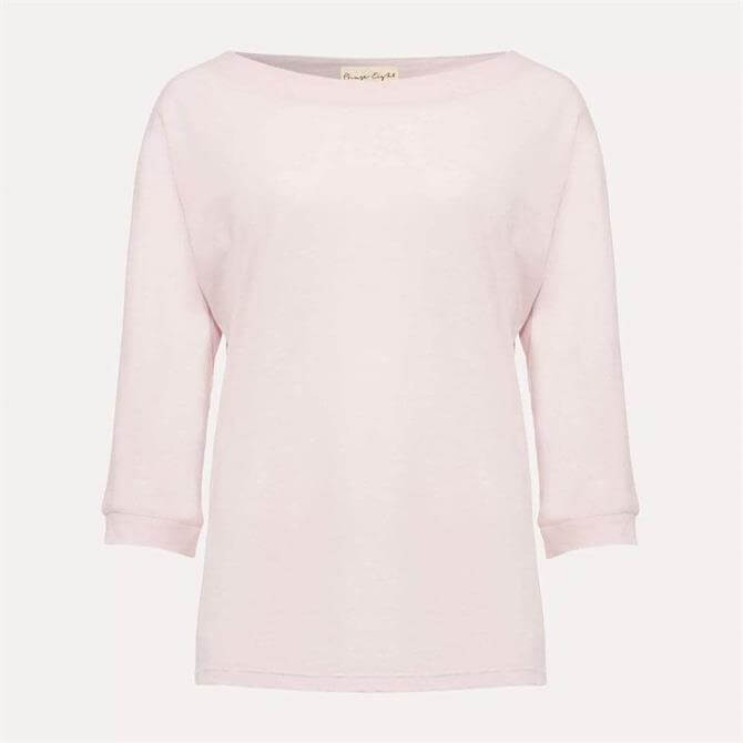 Phase Eight Belle 3/4 Sleeve Top Pale